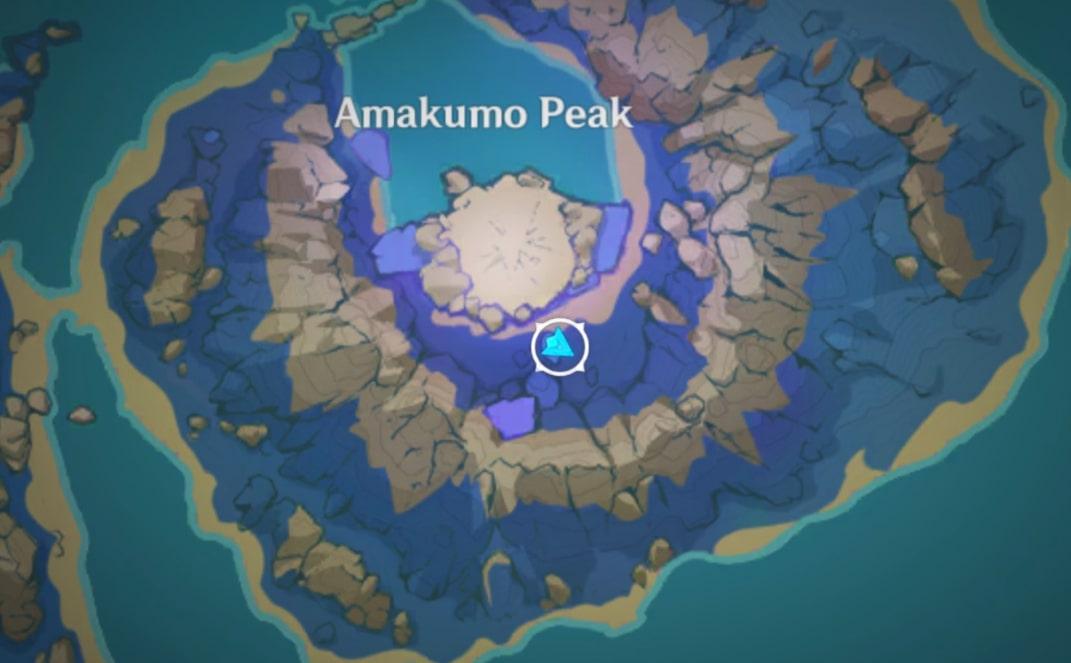 головоломка на Пике Амакумо на карте